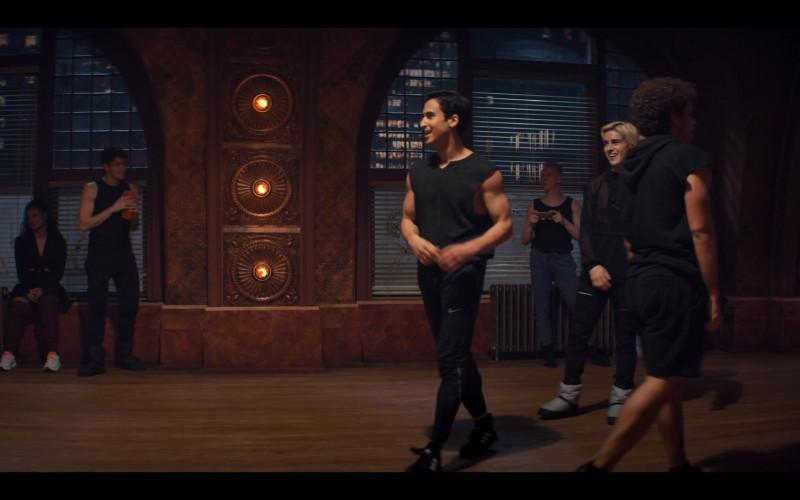 Nike Black Pants Worn by Michael Hsu Rosen as Nabil in Tiny Pretty Things S01E09
