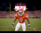 Nike Orange Football Jersey of Jay Reeves as Ray McElrathbey...