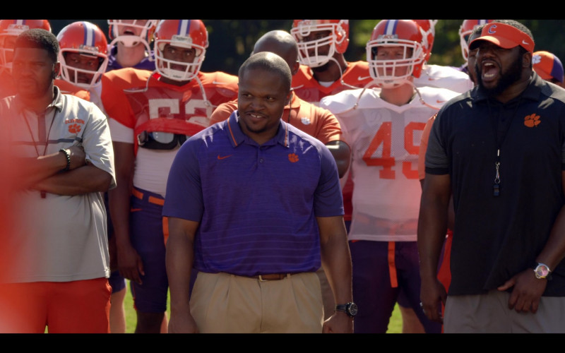 Nike Short Sleeve Shirt of Irone Singleton as Coach Butch Hassey (as IronE Singleton) in Safety (1)