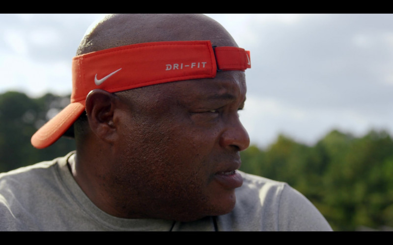 Nike Visors of Michael Beasley as Strength Coach Tom Morris in Safety (3)