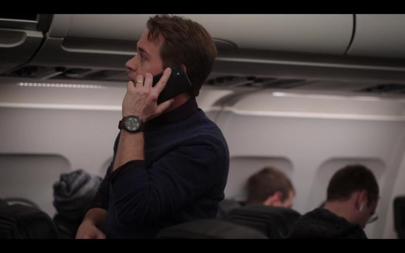 Nixon Ranger Men's Watch of T.R. Knight as Davey Bowden in The Flight Attendant Episode 4