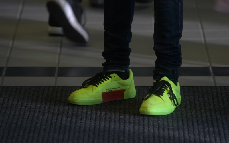 Off-White Vulcanized Low Sneakers in Power Book II Ghost S01E08