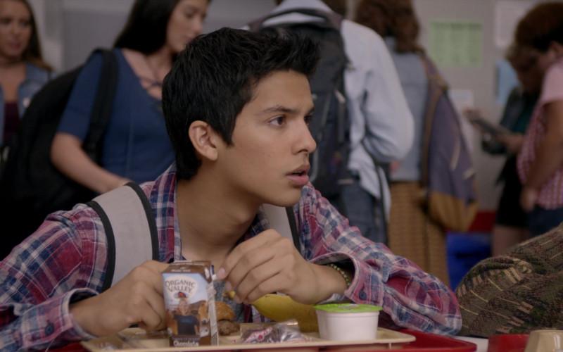 Organic Valley Chocolate Milk of Xolo Maridueña as Miguel Diaz in Cobra Kai S01E02 (3)