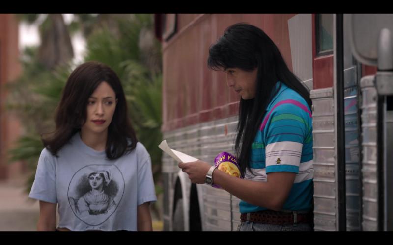 Original Penguin Men's Polo Shirt in Selena The Series S01E09 Qué Creías (2020)