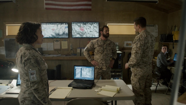 Panasonic Toughbook Notebook in SEAL Team S04E01