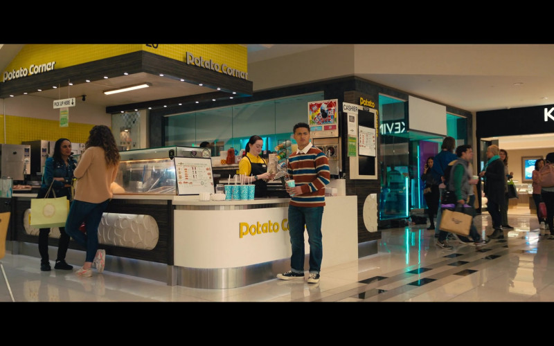 Potato Corner in The Prom (2020)