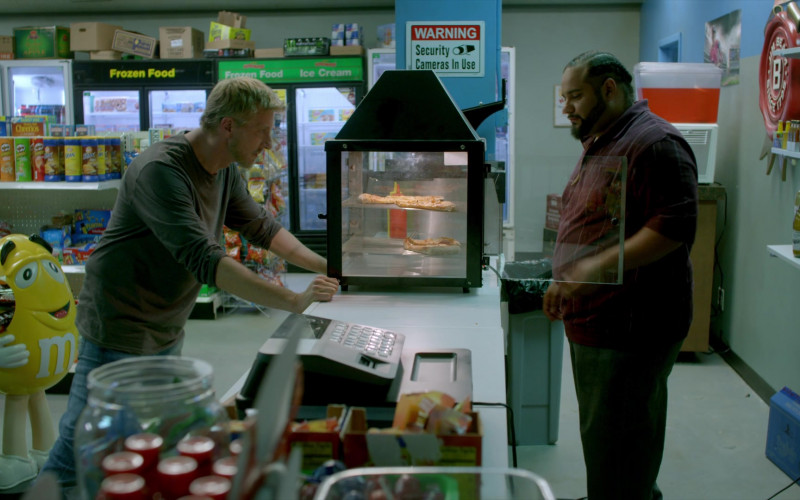 Pringles Chips and M&M's Candies in Cobra Kai S01E01 Ace Degenerate (2018)