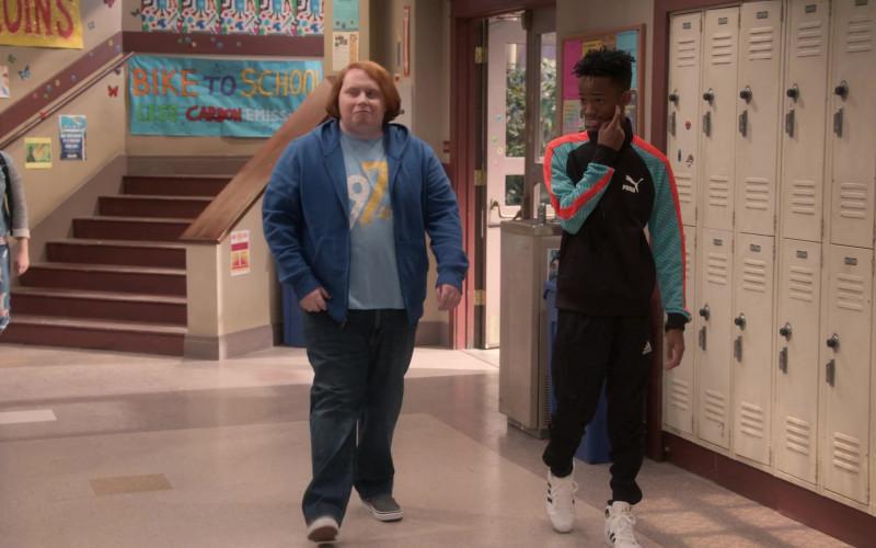 Puma Jacket and Adidas Sports Pants of Coy Stewart as Lorenzo in Mr. Iglesias S03E01