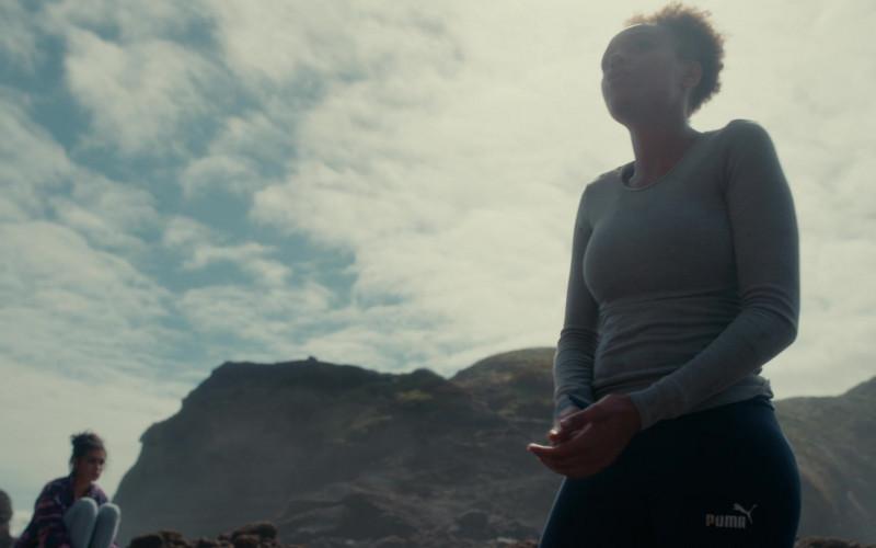 Puma Women's Leggings of Reign Edwards as Rachel Reid in The Wilds S01E01 Day One (2)