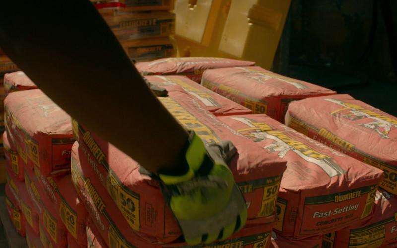 Quikrete Packaged Concrete in Cobra Kai S02E02