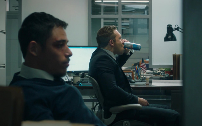Red Bull Energy Drink of Jai Courtney as John Nivens in Honest Thief (1)