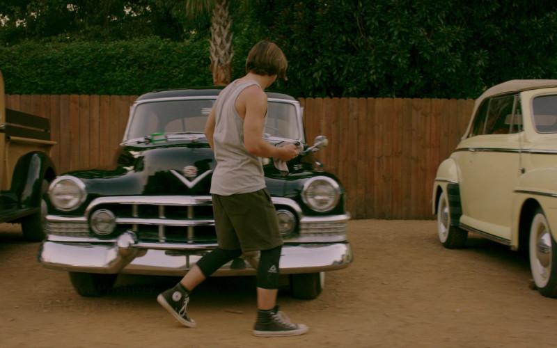 Reebok Men's Leggings of Tanner Buchanan as Robby Keene in Cobra Kai S02E01