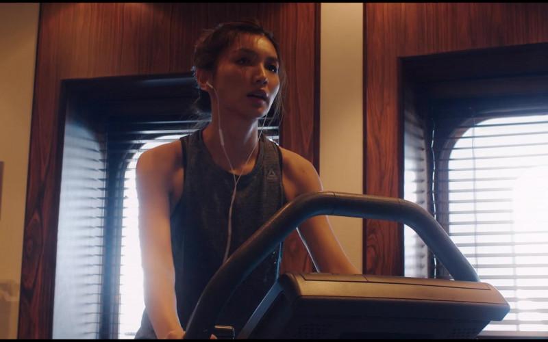 Reebok Women's Workout Tank Top of Gemma Chan as Karen in Let Them All Talk (2020)