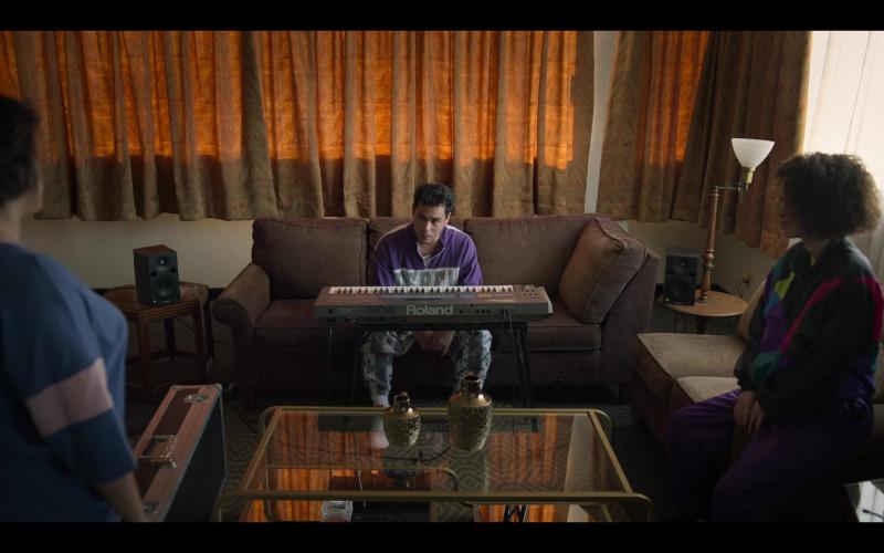 Roland Portable Digital Piano of Gabriel Chavarria as A.B. Quintanilla in Selena The Series S01E07 (1)