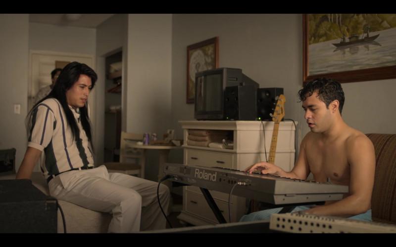 Roland Portable Piano Used by Gabriel Chavarria as A.B. Quintanilla in Selena The Series S01E09
