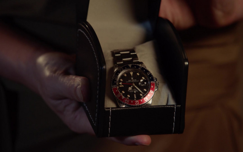 Rolex GMT-Master II Men's Watch of Jay Hernandez as Thomas in Magnum P.I. S03E02