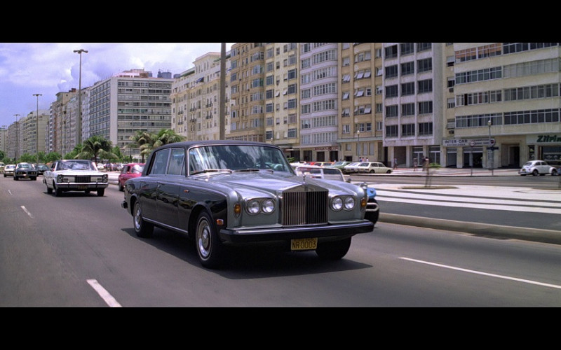 Rolls-Royce Silver Shadow Car in Moonraker (1979)
