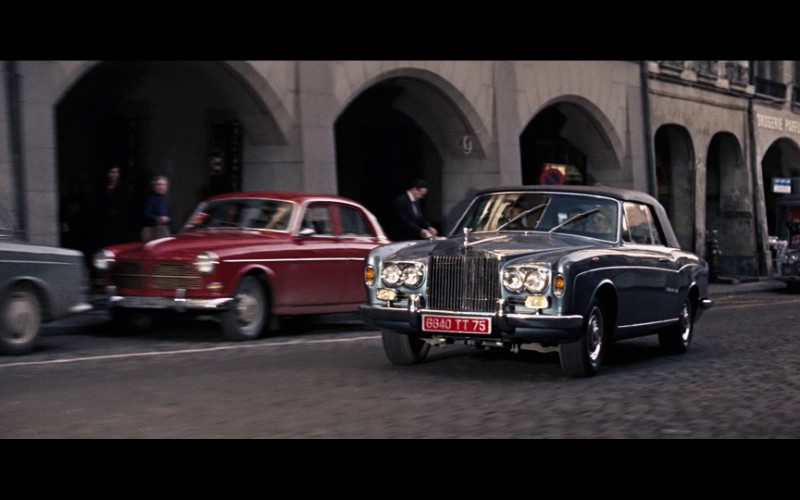 Rolls-Royce Silver Shadow Drophead Coupé in On Her Majesty's Secret Service (1969)