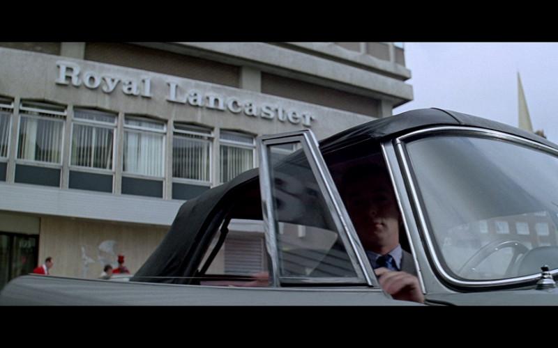 Royal Lancaster London Hotel in The Italian Job 1969 (1)