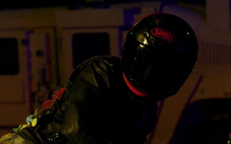 SHOEI Motorcycle Helmet of KJ Apa as Nico Price in Songbird Movie (3)