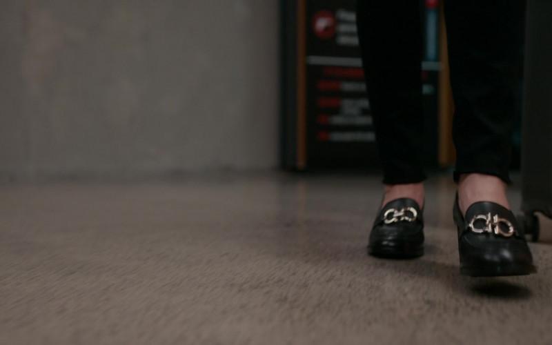Salvatore Ferragamo Shoes of Rachel Griffiths as Gretchen Klein in The Wilds S01E01 (1)