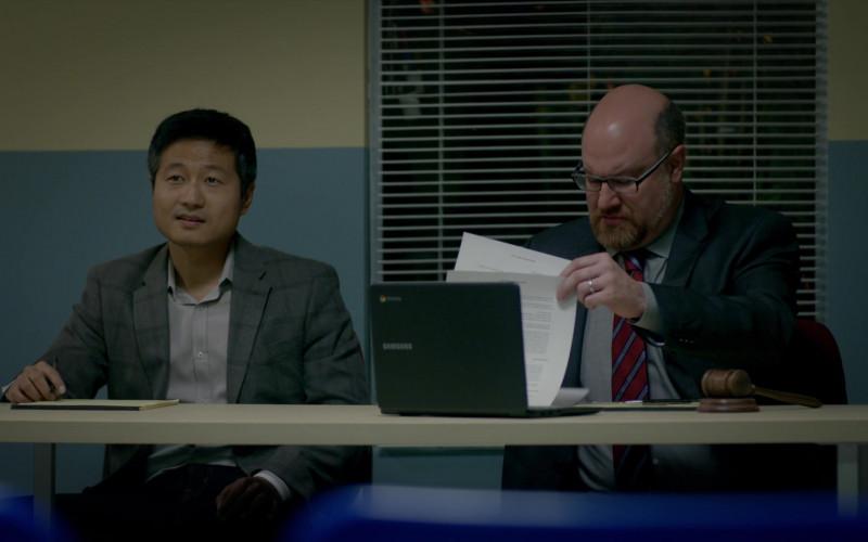 Samsung Chromebook Laptop in Cobra Kai S01E07 All Valley (2018)