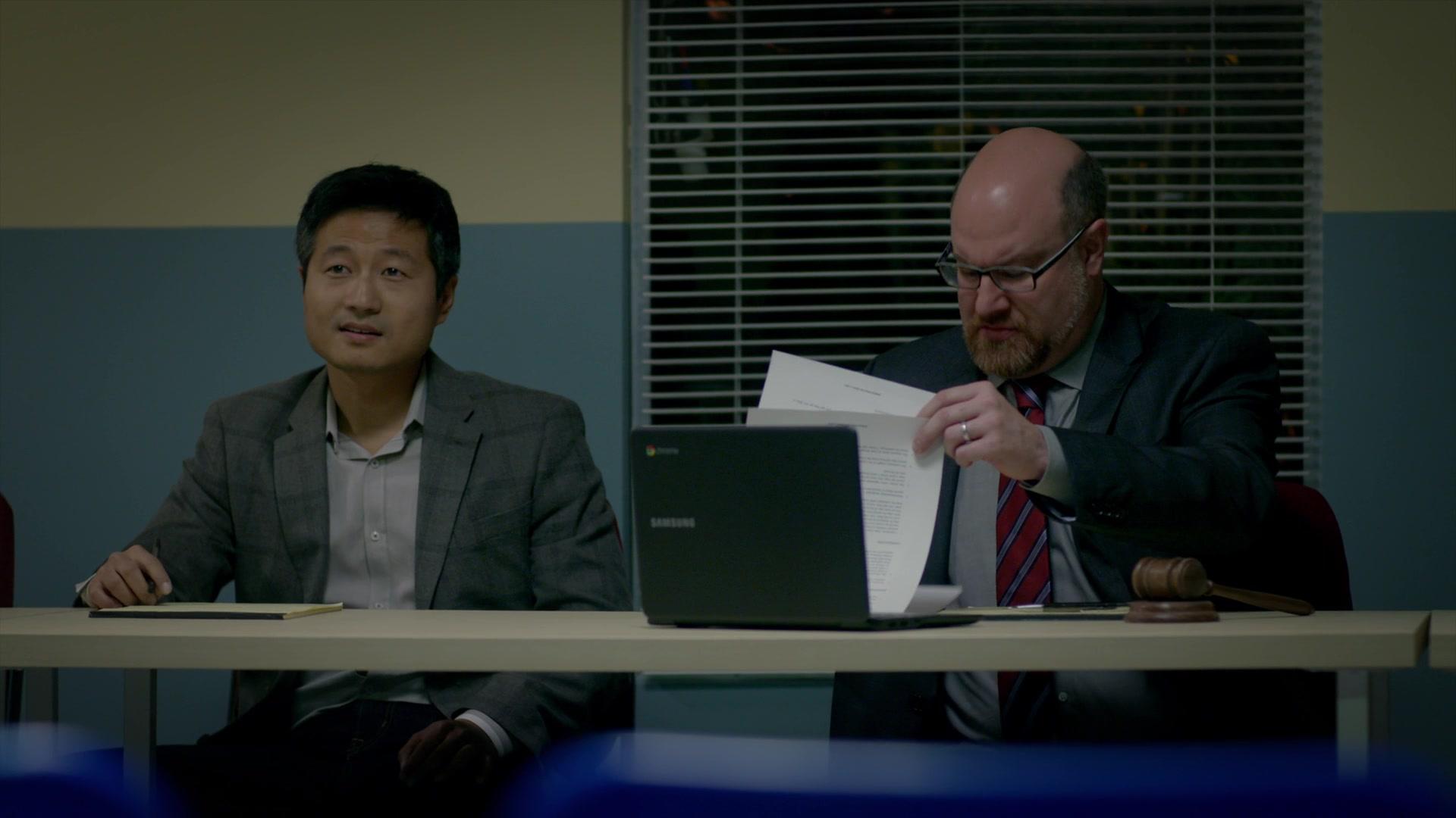 "Samsung Chromebook Laptop In Cobra Kai S01E07 ""All Valley"" (2018)"