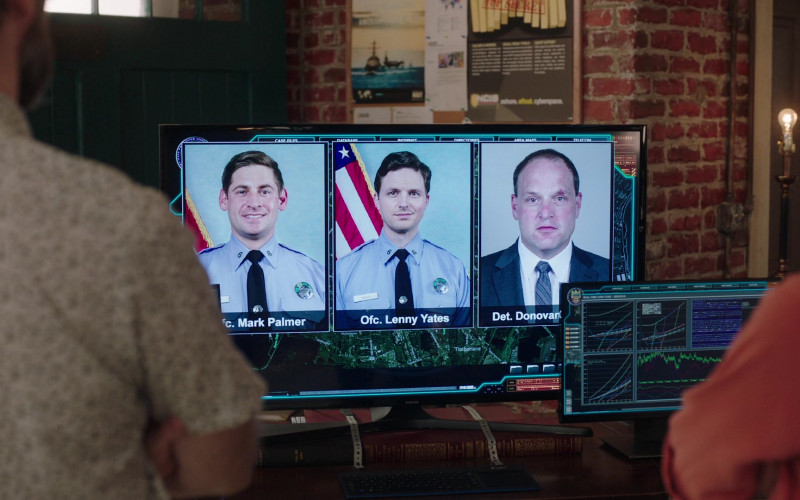 Samsung Television in NCIS New Orleans S07E04 We All Fall… (2020)