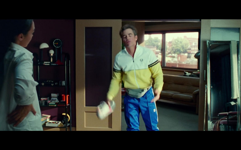 Sergio Tacchini Jacket and Adidas Pants of Chris Pine as Steve Trevor in Wonder Woman 1984 (2020)