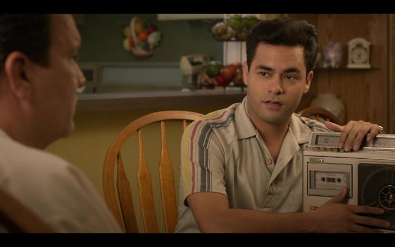 Sony Cassette Recorder of Gabriel Chavarria as A.B. Quintanilla in Selena The Series S01E02