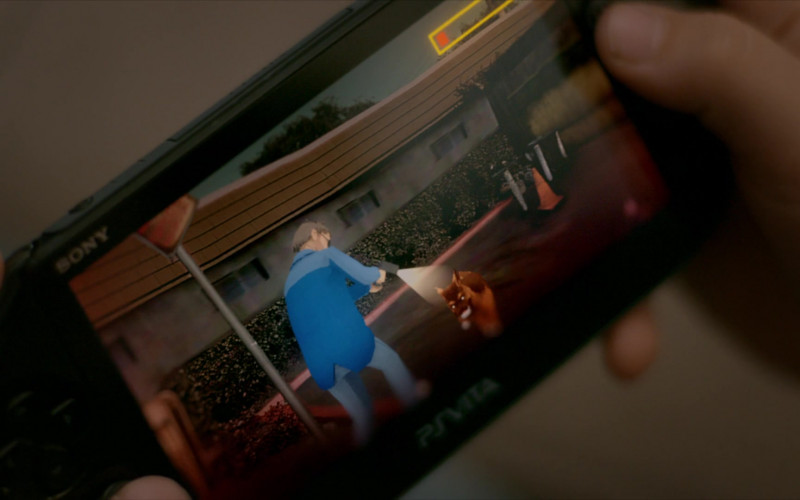 Sony PS Vita Handheld Video Game Console of Griffin Santopietro as Anthony in Cobra Kai S01E08 (2)