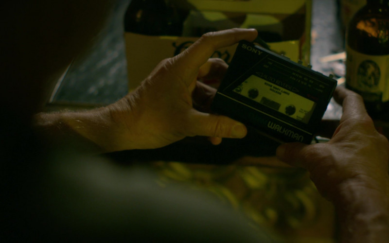 Sony Walkman Vintage Personal Cassette Player of William Zabka as Johnny Lawrence in Cobra Kai S01E06