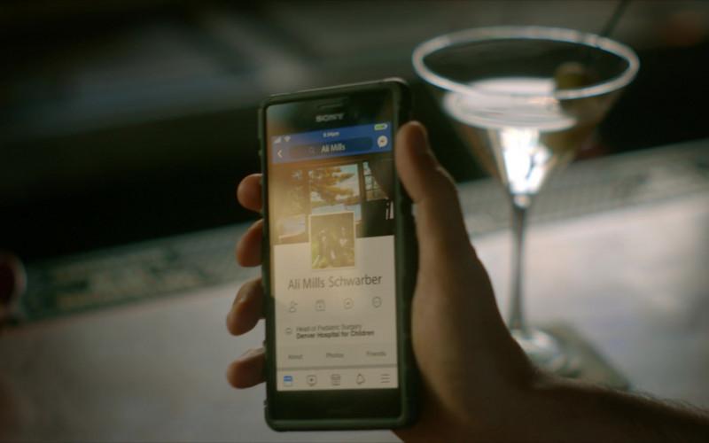 Sony Xperia Smartphone Used by Ralph Macchio as Daniel LaRusso in Cobra Kai S01E09