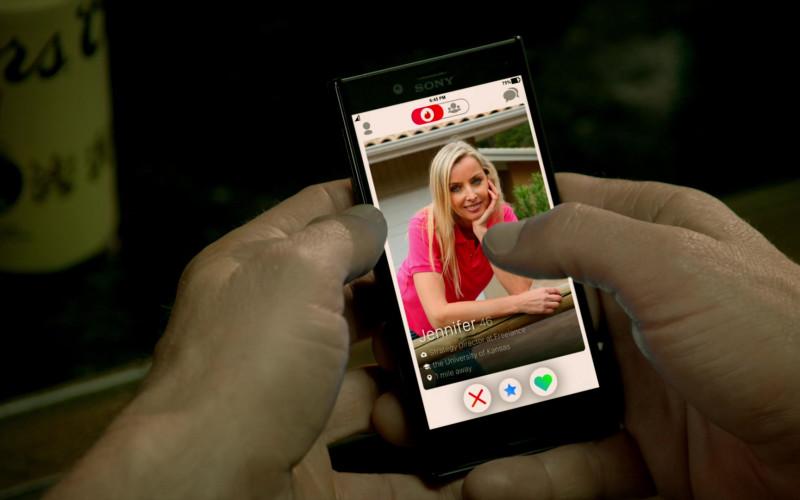 Sony Xperia Smartphone Used by William Zabka as Johnny Lawrence in Cobra Kai S02E08