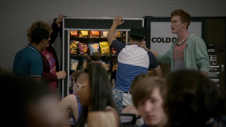 Takis, Doritos, Lay's and Funyuns Snacks in Cobra Kai S01E02 Strike First (2018)