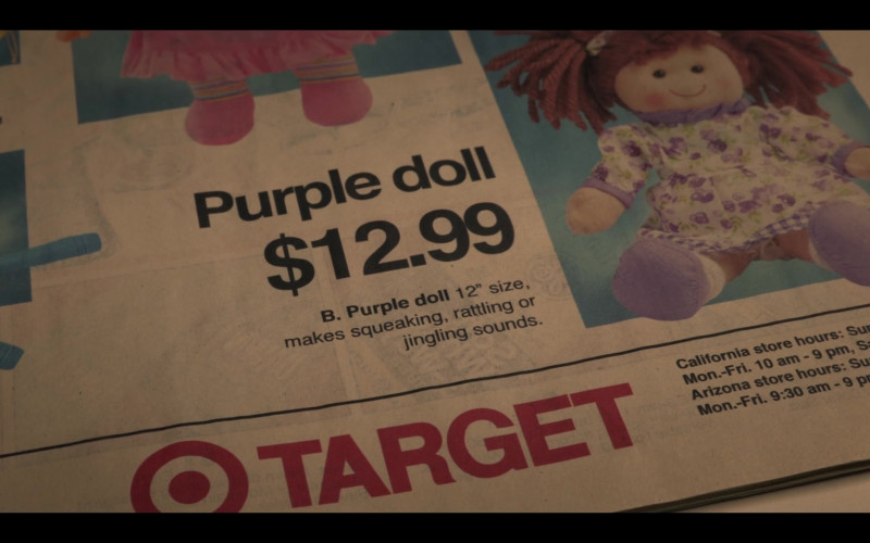 Target Store Newspaper Advertising in Selena The Series S01E08 Gold Rush (2020)