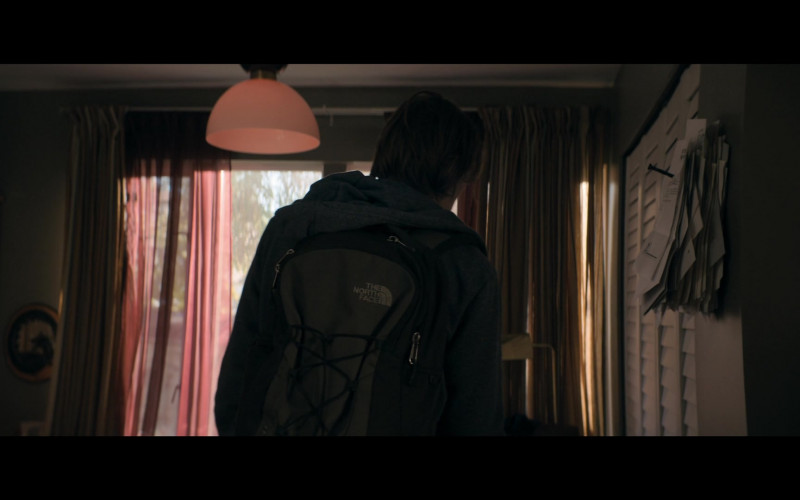 The North Face Backpack of Owen Teague as Harold Lauder in The Stand S01E01 (1)