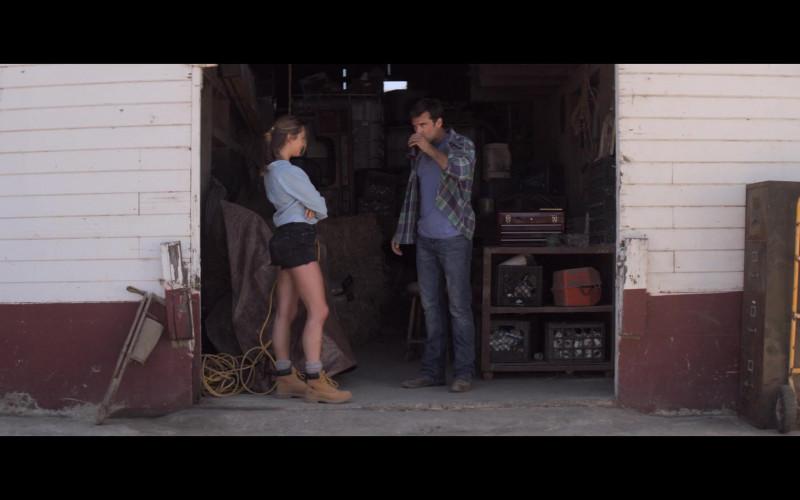 Timberland Women's Boots of Lauren Swickard as Callie in A California Christmas (2020)