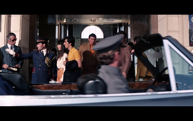 Touring Club Italiano badge (on the right, above the ACP badge) in On Her Majesty's Secret Service (1969)