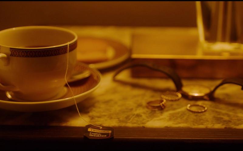 Twinings English Breakfast Tea Enjoyed by Dianne Wiest as Susan in Let Them All Talk (2020)