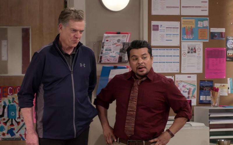 Under Armour Men's Jacket of Christopher McDonald as Coach Dixon in Mr. Iglesias S03E04 (1)