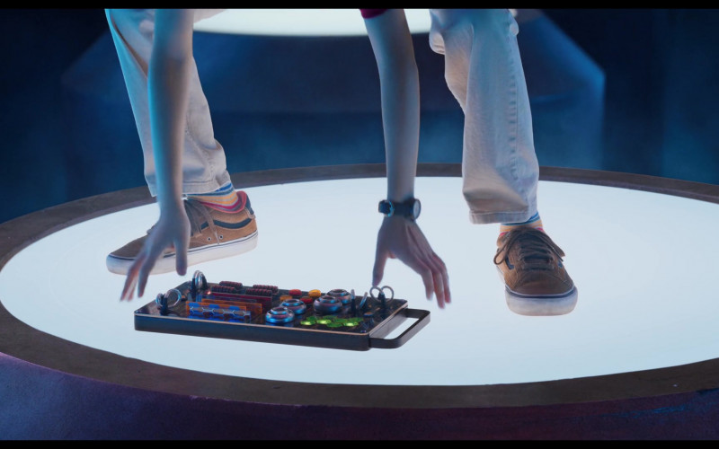 Vans Boys Shoes of Dylan Henry Lau as Slo-Mo in We Can Be Heroes (2)