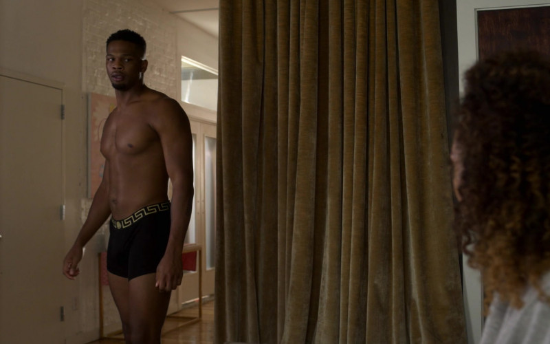 Versace Men's Underwear of Daniel Bellomy as Ezekiel 'Zeke' Cross in Power Book II Ghost S01E09 (1)