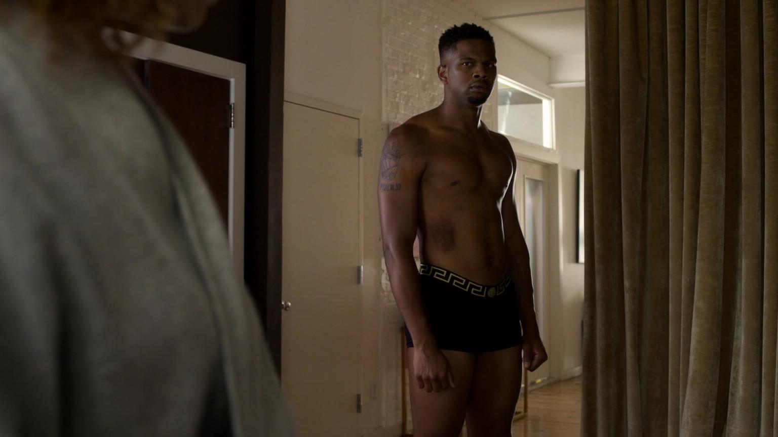 Versace Men's Underwear Of Daniel Bellomy As Ezekiel Cross ...