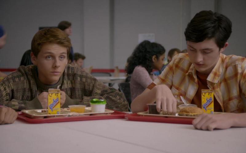Yoo-Hoo Chocolate Drinks of Jacob Bertrand as Eli & Gianni Decenzo as Demetri in Cobra Kai S01E02 (3)