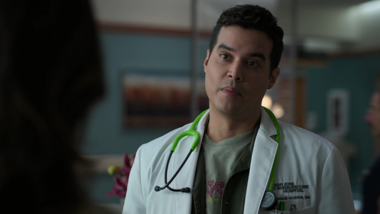 3M Littmann Green Stethoscope of Brian Marc as Dr. Enrique Guerin in The Good Doctor S04E08