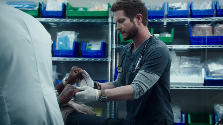 3M Littmann Stethoscope Used by Matt Czuchry as Conrad Hawkins in The Resident S04E03 The Accidental Patient (2021)