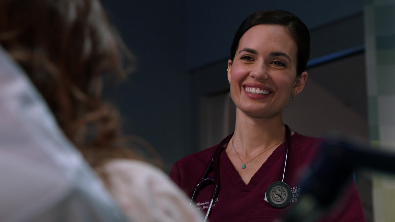 3M Littmann Stethoscope Used by Torrey DeVitto as Dr. Natalie Manning in Chicago Med S06E04 (3)