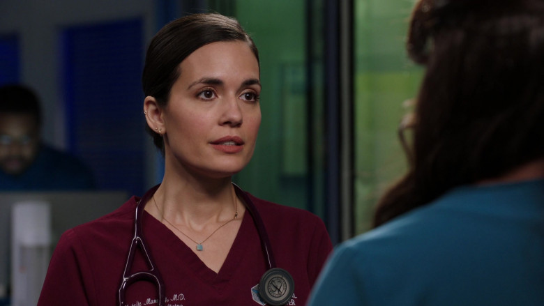 3M Littmann Stethoscope Used by Torrey DeVitto as Dr. Natalie Manning in Chicago Med S06E04 (4)