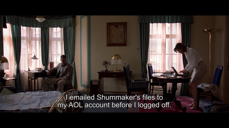 AOL Email in The Peacemaker (1997)
